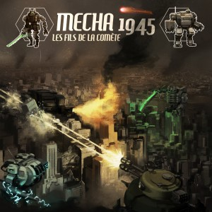 La version 1 de Mecha 1945 est là ! Disponible en Print and Play.